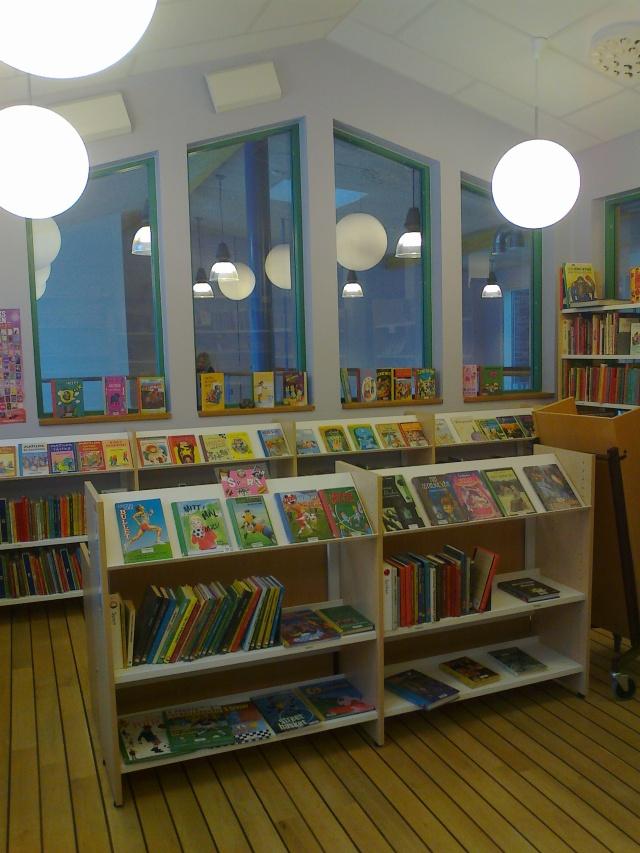 Vitalisskolans skolbibliotek